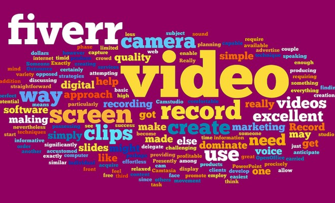Fiverr video creation software