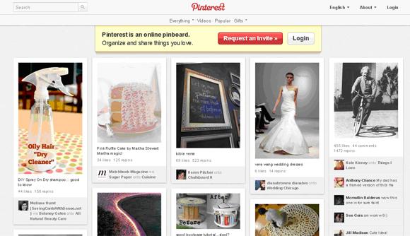 Pinterest-wp-theme