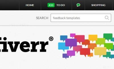 Fiverr feedback templates
