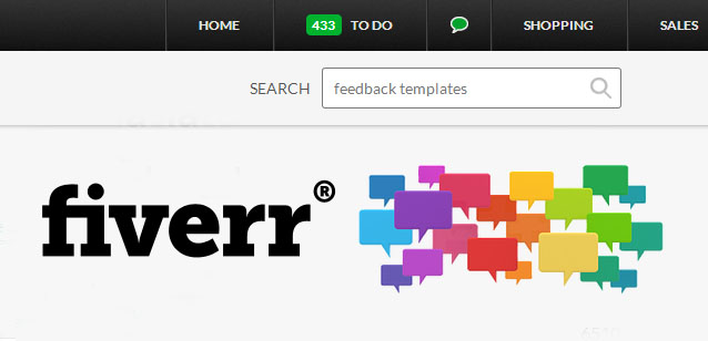 Fiverr feedback templates